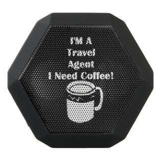 ¡Soy agente de viajes, yo necesito el café! Altavoz