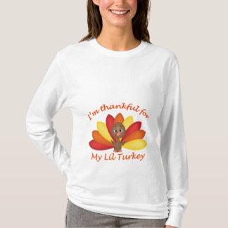 Soy agradecido para mi camisa de Lil Turquía