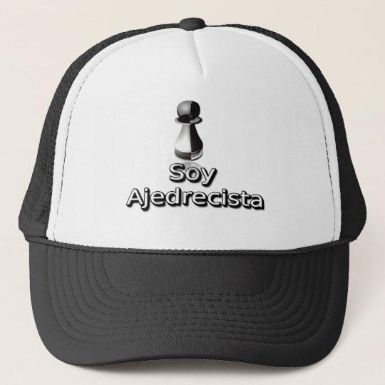 Soy ajedrecista trucker hat