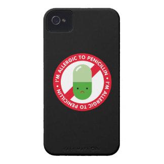 ¡Soy alérgico a la penicilina! Alergia de la Case-Mate iPhone 4 Protectores