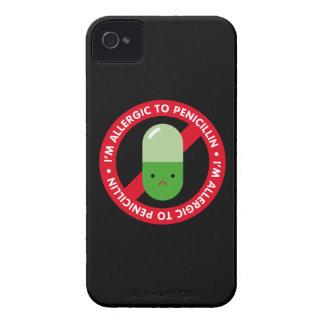 ¡Soy alérgico a la penicilina! Alergia de la Case-Mate iPhone 4 Cárcasas