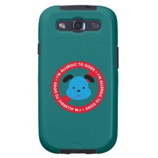 ¡Soy alérgico a los perros! Alergia del perro Galaxy S3 Carcasas