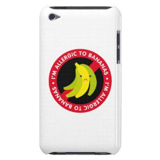¡Soy alérgico a los plátanos! Alergia del plátano Barely There iPod Carcasa