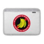 ¡Soy alérgico a los plátanos! Alergia del plátano Funda Macbook Air