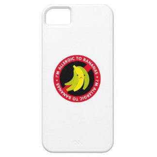 ¡Soy alérgico a los plátanos! Alergia del plátano iPhone 5 Fundas