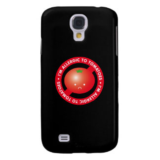 ¡Soy alérgico a los tomates! Alergia del tomate Funda Para Galaxy S4