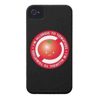 ¡Soy alérgico a los tomates! Alergia del tomate iPhone 4 Protector