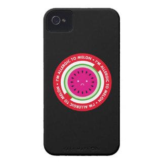 ¡Soy alérgico al melón! Alergia del melón iPhone 4 Carcasa
