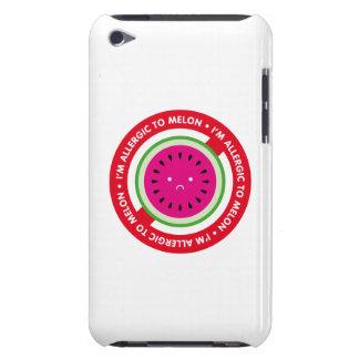 ¡Soy alérgico al melón! Alergia del melón iPod Touch Cárcasa