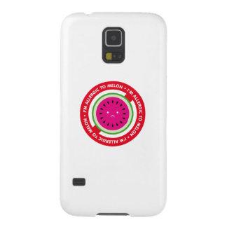 ¡Soy alérgico al melón! Alergia del melón Carcasa De Galaxy S5