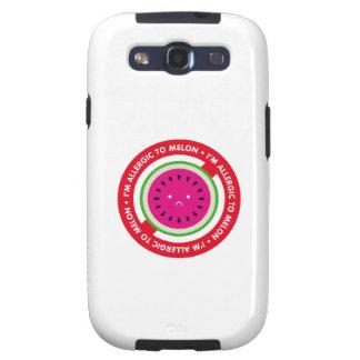 ¡Soy alérgico al melón! Alergia del melón Galaxy S3 Cobertura