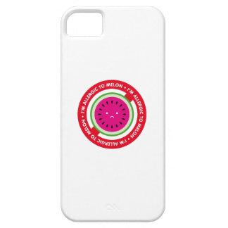 ¡Soy alérgico al melón! Alergia del melón iPhone 5 Protectores
