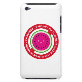 ¡Soy alérgico al melón! Alergia del melón Barely There iPod Protector