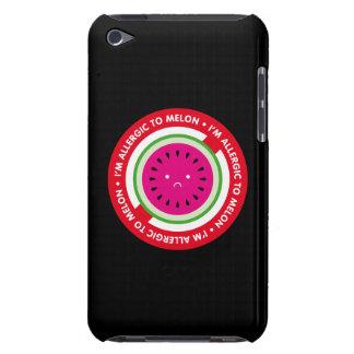 ¡Soy alérgico al melón! Alergia del melón iPod Case-Mate Funda