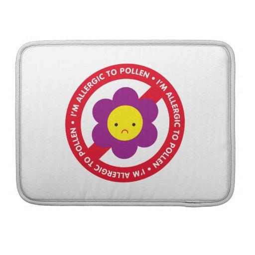 ¡Soy alérgico al polen! Funda Macbook Pro