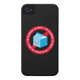 ¡Soy alérgico ordeñar! iPhone 4 Case-Mate Coberturas