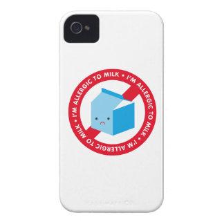 ¡Soy alérgico ordeñar! iPhone 4 Case-Mate Protector