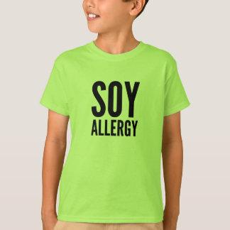 Soy Allergy Tee Shirt