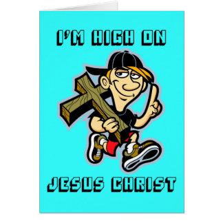Soy alto en Cristo Tarjeta De Felicitación