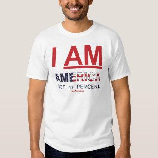 SOY AMÉRICA. Camiseta del no 47 por ciento - obra Polera