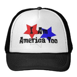 Soy América también Gorros Bordados