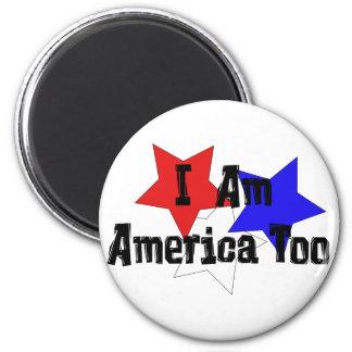 Soy América también Imán Redondo 5 Cm