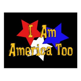 Soy América también Postales