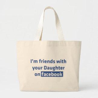 Soy amigos con su hija en facebook bolsa