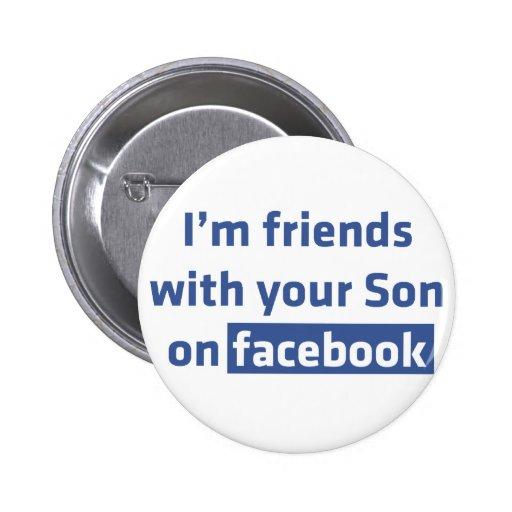Soy amigos con su hijo en facebook. pin