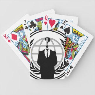 Soy anónimo baraja de cartas