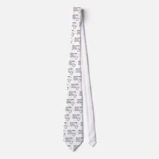 Soy apenas doctor corbata personalizada