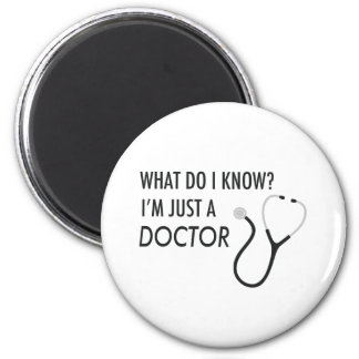 Soy apenas doctor imán de nevera