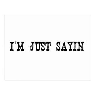 Soy apenas Sayin Postal