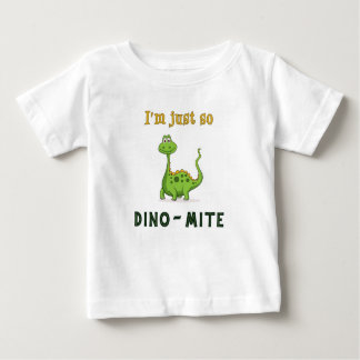 ¡Soy apenas tan Dino-Ácaro! Camiseta del niño