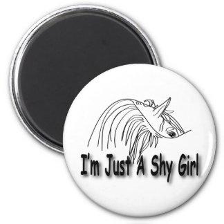 Soy apenas una muchacha tímida imán