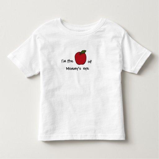 Soy Apple del ojo de la mamá - (o abuela, el papá) T Shirts