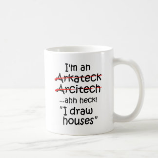 Soy arquitecto taza de café