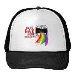 Soy así que gay, puke los arco iris gorros