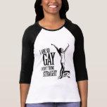 Soy así que gay que no puedo pensar derecho camisetas