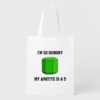 Soy así que hambriento, mi apatita es 5 (unilatera bolsas reutilizables