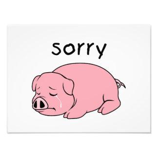 Soy así que las tarjetas rosadas gritadoras arte con fotos