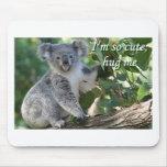 Soy así que lindo, abráceme: koala tapetes de ratones