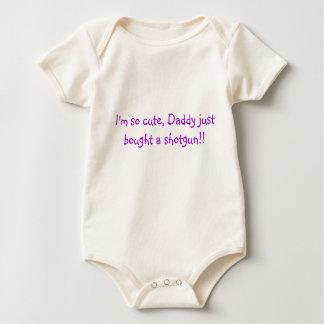 ¡Soy así que lindo, papá apenas comprado una Body Para Bebé