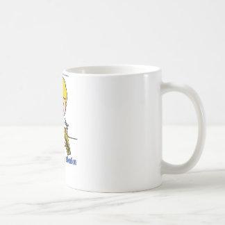 Soy así que me rompí no puedo incluso prestar la taza de café