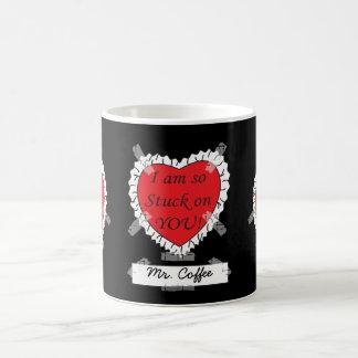 Soy así que pegado en usted Sr. Coffee Taza