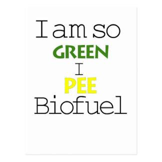 Soy así que verde que hago pis combustible biológi postal