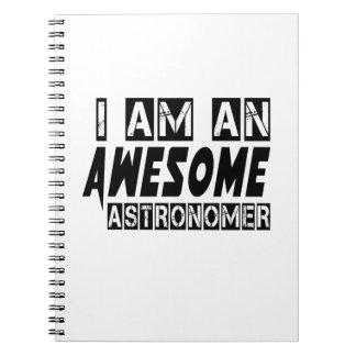 Soy astrónomo impresionante libro de apuntes