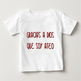 Soy Ateo Baby T-Shirt