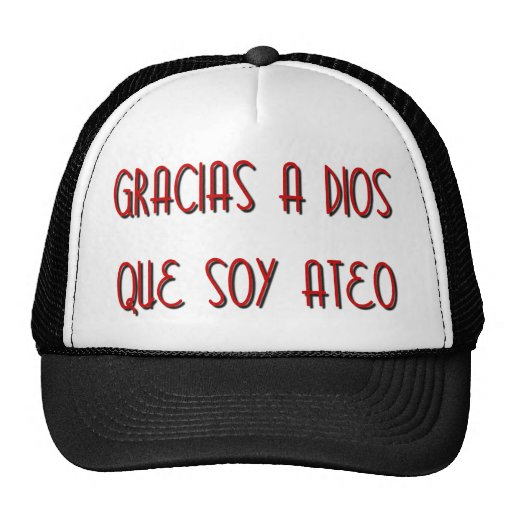 Soy Ateo Hats