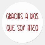 Soy Ateo Sticker
